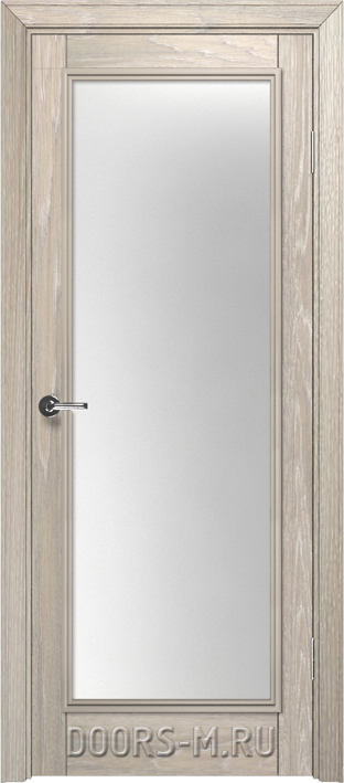 Двери с резьбой из массива натурального дерева в интерьере